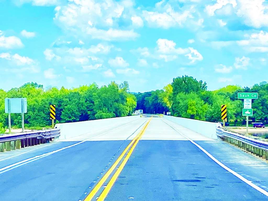 """The Highway 23 bridge over the Wisconsin River south of Spring Green is now open. """"With the continued good weather and some changes to the..."""