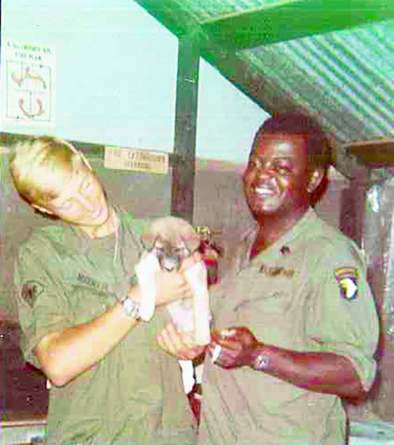 by Deniece CarverKeith Maxwell made a promise on national television 52 years ago when he was in Vietnam. On Hamburger Hill (a nickname...