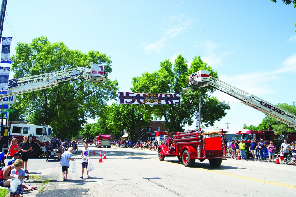 The Lone Rock 4th of July celebration is back this year. Events will starts with a water walk/run at Fireman's Park before the parade. At 11 a....